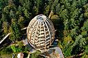 Stezka v korunách stromů - Bavorsko, Německo (D)